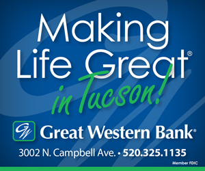 Great Western Bank - Making Life Great in Tucson. 3002 N Campbell Ave - 520-325-1135